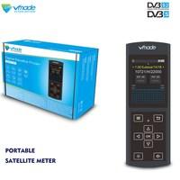 Vmade 2019 localizador de satélite original  dz6370 full hd 3.0 tela lcd DVB-S2 DVB-S fta c & ku band digital sat finder meter