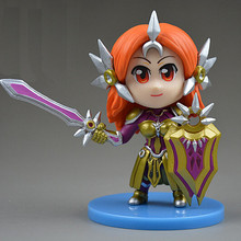 FY Toy 2016 Hot Leona Figures 8 cm Q Version PVC LOL Action Figure With Retail Box Kid Model Toys For Gift Juguetes LOL010