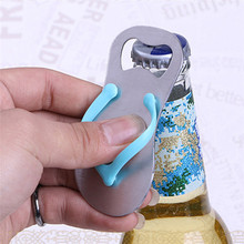995d94446d2b9 Cool Creative Wine Slipper Shaped Sandal Bottle Opener Flip-flop Beer Cap  Opener Kitchen Bar