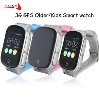 Smart Safe 3G WCDMA Remote Camera GPS £ WIFI Lage Tracker SOS Monitor Kind Ältere Kinder Uhr Armbanduhr 1,54 Touch bildschirm