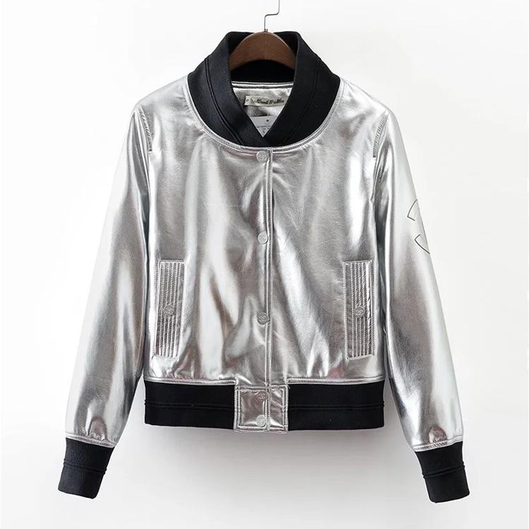 Popular Silver Short Jacket-Buy Cheap Silver Short Jacket lots ...