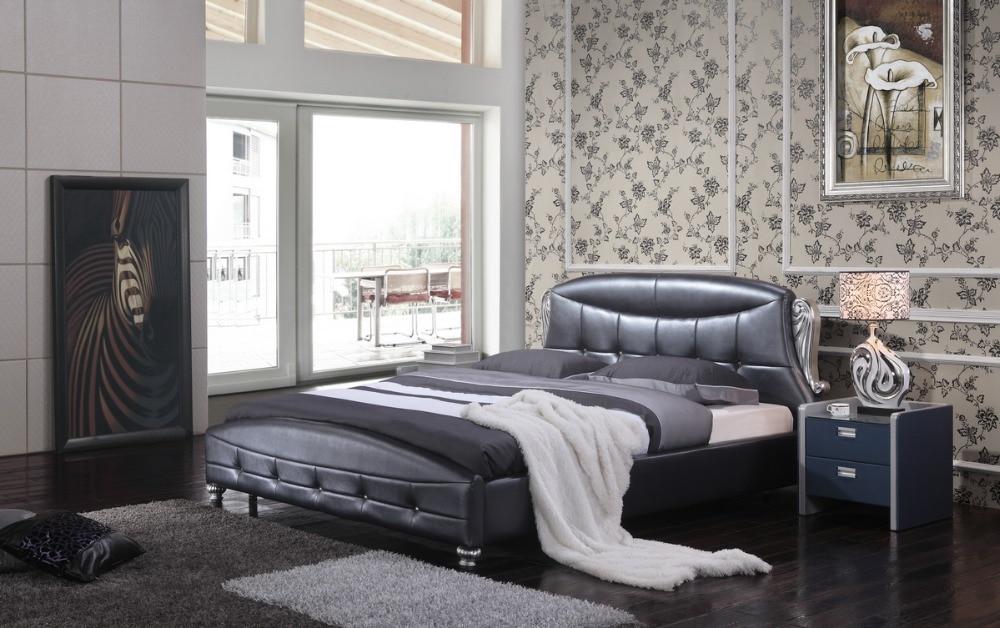 Acquista all'ingrosso Online nero moderno camera da letto set da ...