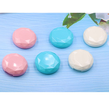 Mini Stylish Simple Contact Lens Travel Case Container Kit Set Contacts Hard Mirror with Bottle Tweezers