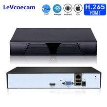 H.265 보안 네트워크 비디오 레코더 H.265/264 IP 카메라 용 16CH 5MP 8CH 4MP 보안 NVR Onvif 스마트 폰 PC 원격 액세스