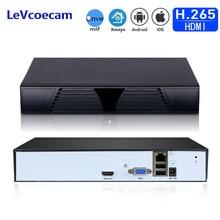 H.265 Sicherheit Netzwerk Video Recorder 16CH 5MP 8CH 4MP Sicherheit NVR Für H.265/264 IP Kamera Onvif Smart telefon PC remote access