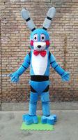 Five Nights At Freddy's FNAF Blue Bonnie Mascot Costume Free Shipping