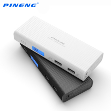 Pineng Power Bank 10000mah LCD External Battery Portable Mobile Fast Charger Dual USB Powerbank for iPhone 6 Samsung Tablet