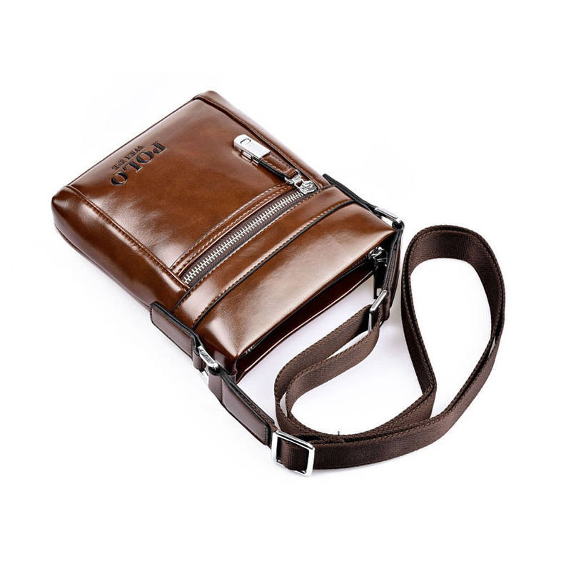 homensageiro bolsa portátil maleta polo Vertical Size : 19*23*4cm, 17*21*4cm