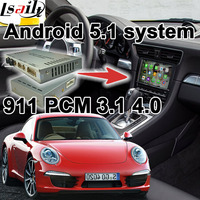 Android 6.0 GPS navigatie doos voor Porsche 911 PCM 3.1 4.0 video interface doos spiegel link google play youtube achter view