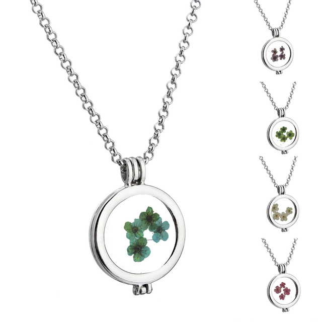 St patrick day personalized handmade pictured circle four leaf st patrick day personalized handmade pictured circle four leaf clover locket memory floating pendant necklace aloadofball Gallery
