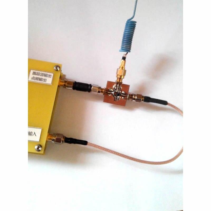 Image 5 - Простой анализатор спектра D6 с источник отслеживания T.G. V2.02 простой источник сигнала RF Частотный инструмент для анализа домена-in Усилитель from Бытовая электроника