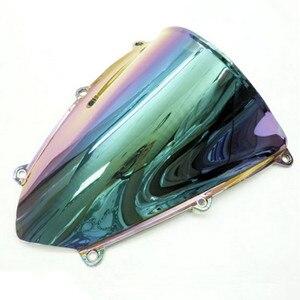 Colorful Windshield Windscreen For 2007 2008 2009 2010 Honda CBR 600 RR 600RR F5(China)