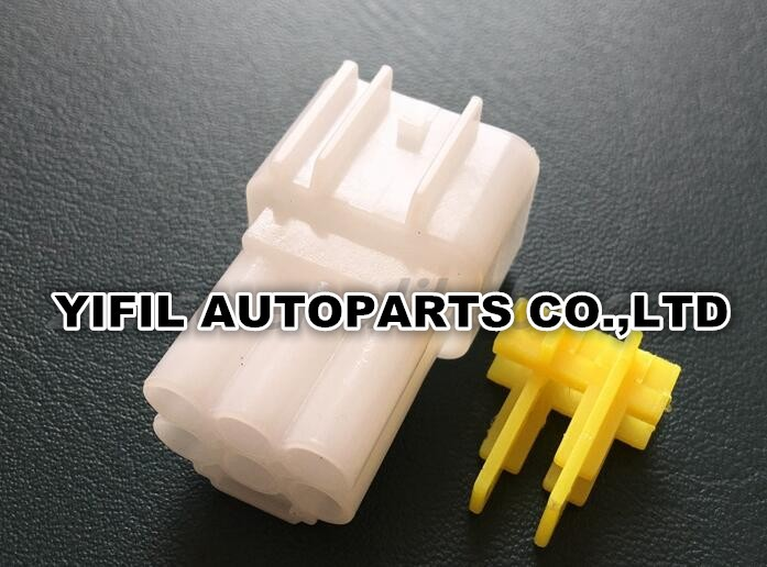 100pcs/lot Furukawa 6 Pin/Way Male High voltage Ignition Coil Plug Connector For Ford Mondeo FW C 6M B-in Cables, Adapters & Sockets from Automobiles & Motorcycles    2
