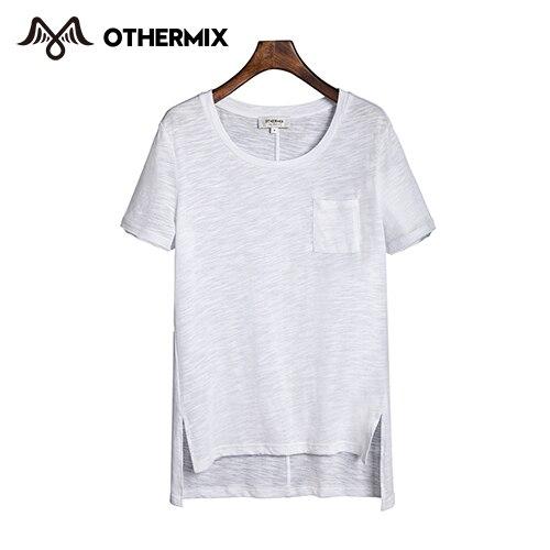 43910665d95 ... best c4b76 99f9d Othermix Basic T Shirt Women 2015 New Fashion Summer  Cotton Clothes White Simple ...