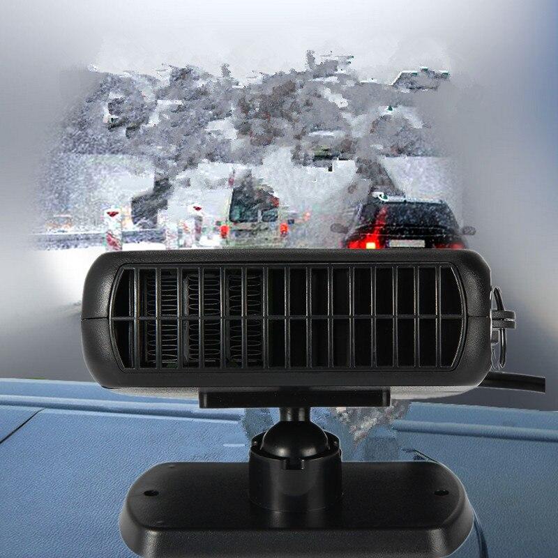 Neue Auto Heizung Heizung Fan 2 in 1 12 v 150 watt Trockner Windschutzscheibe Demister Defroster Für Fahrzeug Tragbare Temperatur control Gerät