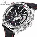 Mens Relógios Top Marca de Luxo Relógio Do Esporte de Mergulho Relogio masculino Militar Relógios Multifunções relógio de Pulso de Quartzo Pagani Projeto