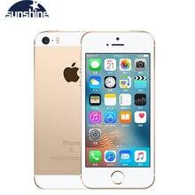 """Разблокированный Apple iPhone SE 4 аппарат не привязан к оператору сотовой связи для мобильных телефонов на базе iOS Touch ID чип A9 двухъядерный процессор, 2G Оперативная память 16 GB/64 GB Встроенная память 4,"""" 12.0MP смартфон"""