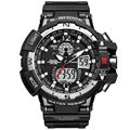 Top Brand Men Digital Sports Watches Dual Display Analog G style LED Electronic Quartz Watches Waterproof Swimming Wristwatches