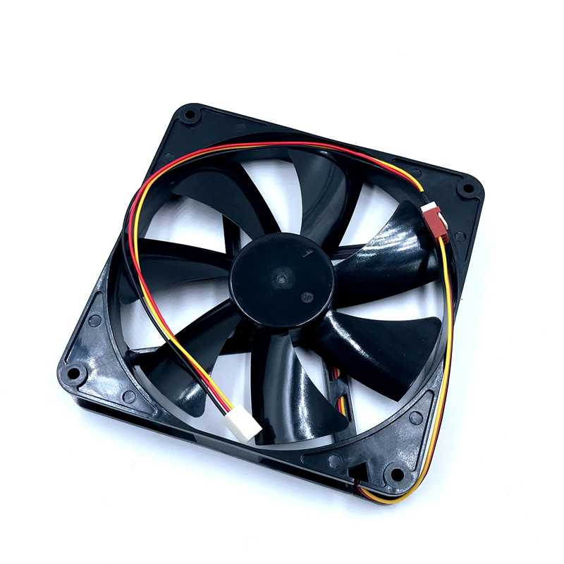 140mm fan ersetzen A14025-10CB-3BN-F1 DC 12 V 0.14A 3-Draht 3-Pin 140x140x25mm Server Fan 1000 RPM