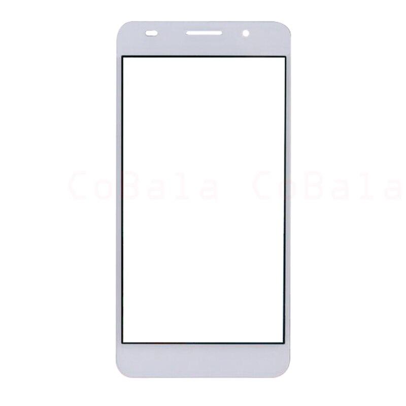 """10 шт./лот оригинальный черный, белый цвет для Huawei Honor 6 спереди Стекло 5.0 """"Сенсорный экран lovain ЖК-дисплей внешний Панель Топ крышка объектива"""