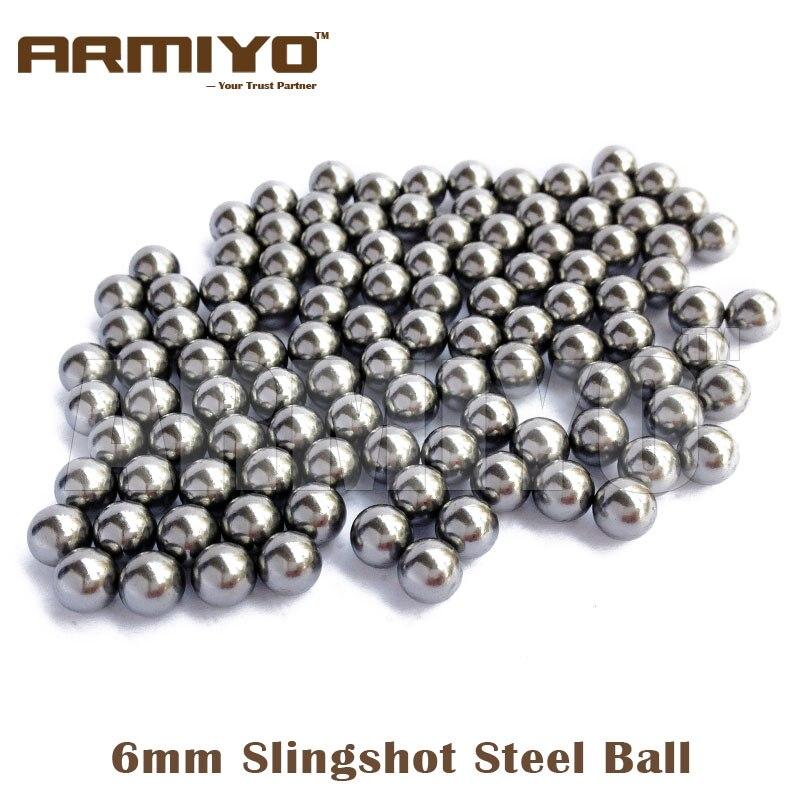 Цена за Armiyo 6 мм/7 мм/8 мм Из Нержавеющей Стали Шары для Охоты