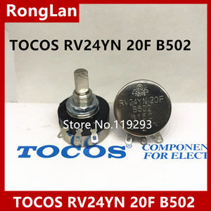 [BELLA]High -quality game potentiometer Japan TOCOS RV24YN 20F B502--10PCS/LOT(China)