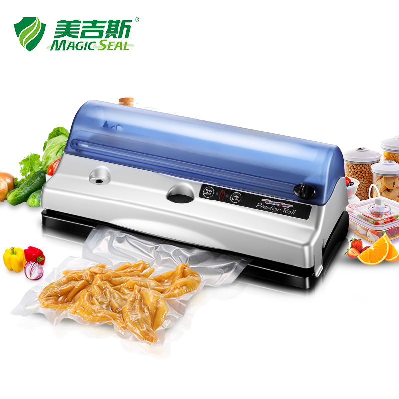 PR4257 Food Vacuum Sealer Preservation Household Commercial Small Wet and Dry Packaging Machine new automatic household and commercial wet and dry dual use electric vacuum food sealer machine