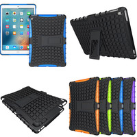 HH Case For New ipadpro 9.7'' Hybrid Kickstand Rugged Rubber Armor Hard PC+TPU Cover Cases For Apple Ipad Pro 9.7 inch