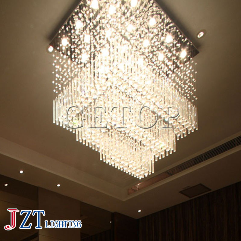 J best price new fashion stair lamp K9 crystal lamp Super spiral staircase droplight Crystal ceiling light mordern style best price 5pin cable for outdoor printer