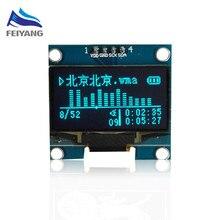A9 1 шт. samiore робот 1.3 «O светодиодный модуль синий цвет IIC 4PIN 128×64 1.3 дюймов o светодиодный ЖК-дисплей светодиодный Дисплей модуль 1.3 «IIC I2C общаться