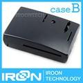 Случае B1: Raspberry PI 3 модель B Черный Чехол Обложка Shell Корпус ABS пластиковая Коробка для Raspberry PI 2 Модель B и Модель B +