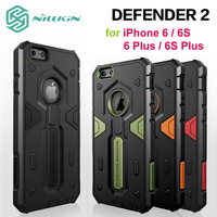 2016 Hot Nillkin Defender 2 Shockproof Armor Case For IPhone 6 6S 6 6S Plus Tough