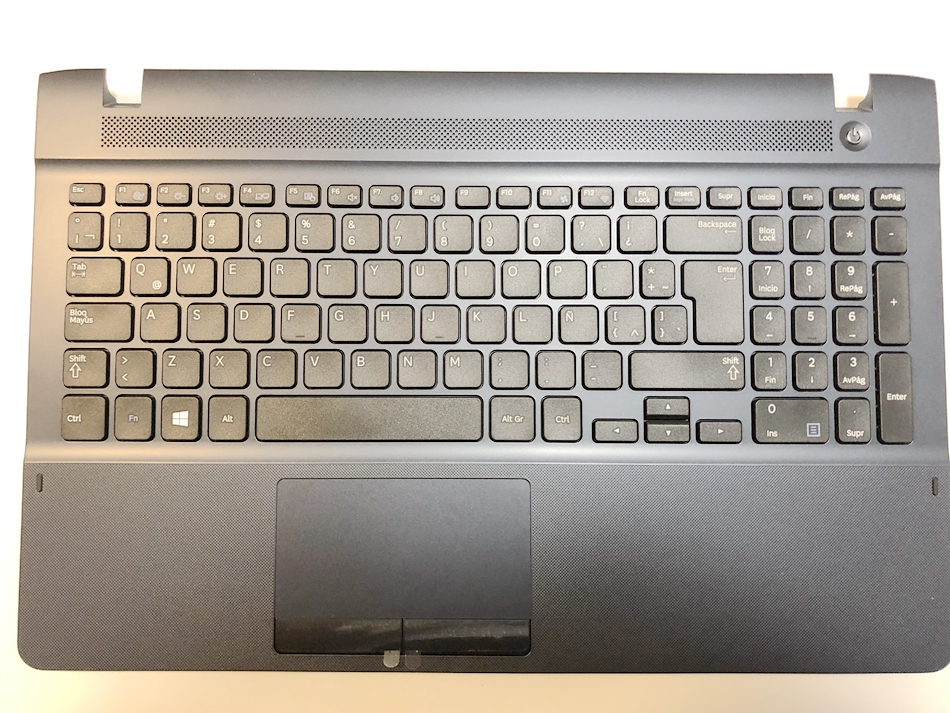 GAOCHENG Laptop PalmRest/&Keyboard for Samsung NP560XBV 560XBV English US BA98-01887A Without Touchpad Upper Case Cover