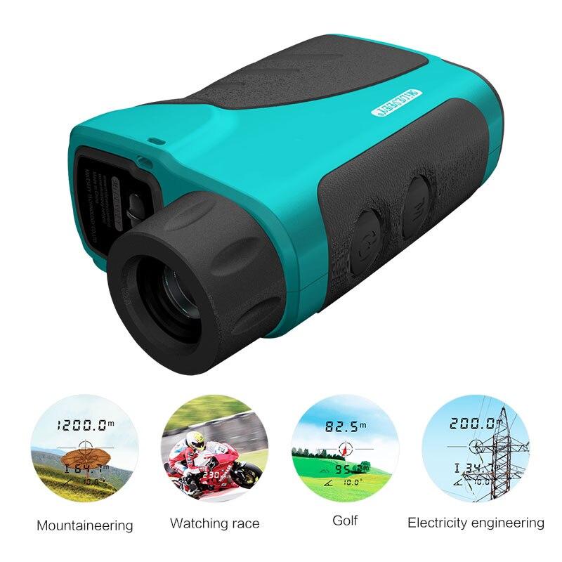 Лазерный дальномер для гольфа дальномер оптические приборы Mileseey PF04 600 м Монокуляр измерения для охоты Гольф гонки