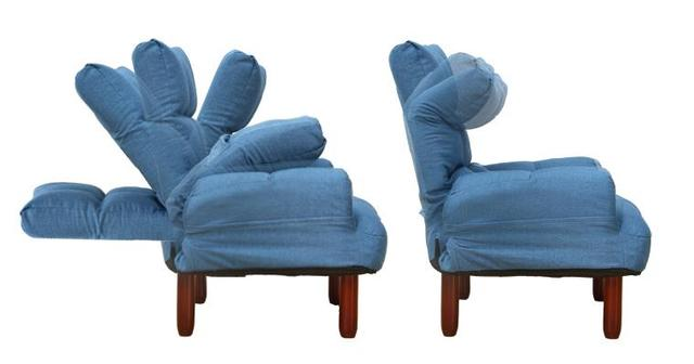 Fabric Soft Accent Armchair  3