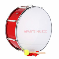 22 Inch Red Afanti Music Bass Drum BAS 1451
