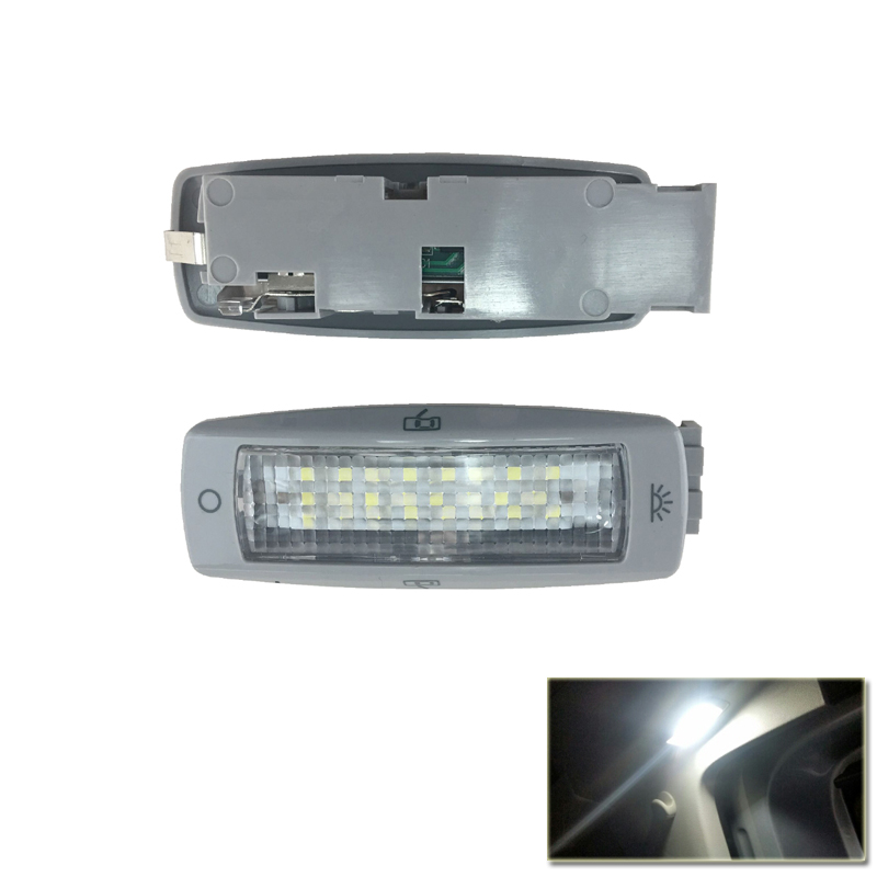 Direct Fit Xenon White Led Roof Dome Interior Lights For VW Beetle Golf Tiguan For Skoda Superb For Seat Alhambra Leon one pair car led interior lamp luggage compartment light case for audi vw skoda seat k 030901 freeshipping ggg