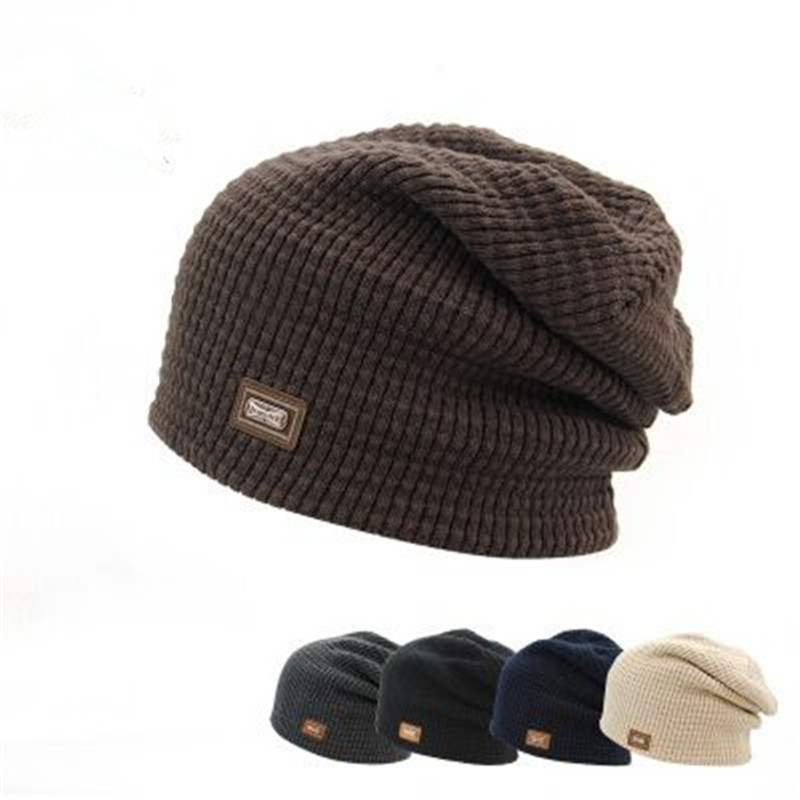 2016 brand Skullies hat winter hat knitted hat winter hats Men Women sports caps casual warm Touca lens cover new gorro skullies