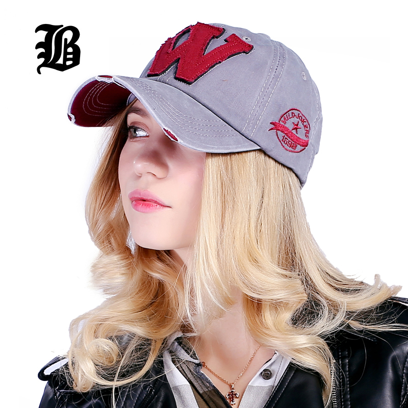 FLB  Cotton Embroidery Letter W Baseball Cap Snapback Caps Bone casquette  Hat Distressed Wearing Fitted Hat For Men ... b480b4bbcbc8