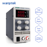 Wanptek KPS3010D 15V 30V 60V 120V 3A 5A 10A AC115V 230V display Lab switching DC Power Supply,0.01A Adjustable Power supply