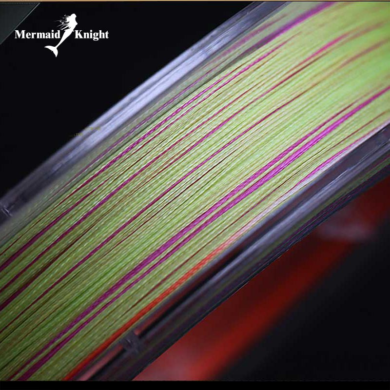 MK Band Baru Colorful 8 Super Kuat 165yds 8 Strands Tenun Tali Pancing Jalinan Multifilamen 10LB ~ 100LB