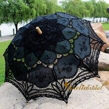 Escenas de la Era victoriana y viejo oeste Vintage decoración de fiesta de eventos paraguas de encaje paraguas regalos de boda Parasol