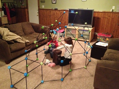 As Seen On TV discovery kids 72 piece build  play