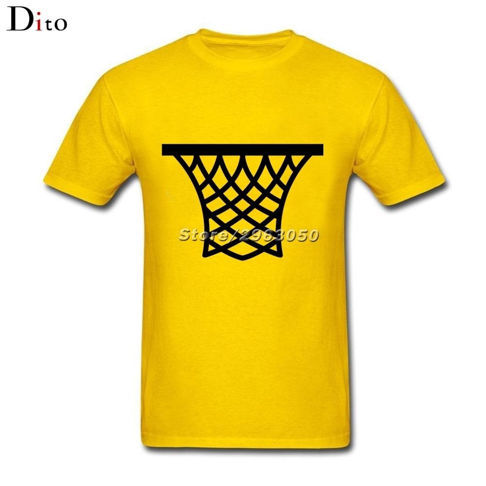 Basketballer Retro net T-shirt For Men Personality Short Sleeve Thanksgiving Day Custom XXXL Team T Shirts