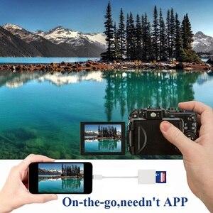 Image 4 - Tipo C lettore di Schede SD Della Macchina Fotografica Kit Compatibile non Ha Bisogno di APP USB C Cavo Dati OTG Per Xiaomi 6 GALAXY S8 Macbook Pro