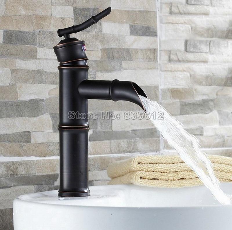 RE Bathroom Single Handle Deck Mounted  Basin Sink Mixer ORB Tap  Mixer Faucet
