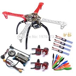 F450 450 Quadcopter MultiCopter Frame kit APM 2.8 w/Schokdemper 7M GPS Power Module 2212 Motor 30A simonk ESC