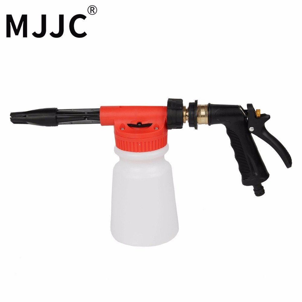 MJJC Brand 2018 with High Quality Garden Water Hose Foamer Gun, garden hose foam lance for car pre washing mjjc brand foam lance for karcher 5 units package free shipping 2017 with high quality automobiles accessory