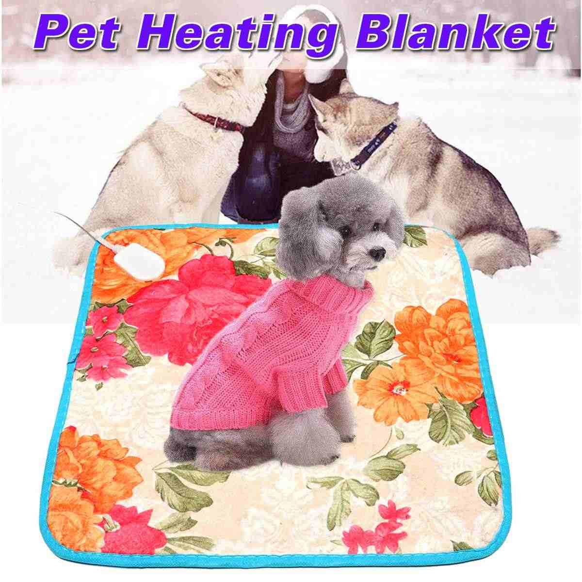 ホット販売 40 センチメートル * 40 センチメートルペット暖かい電熱加熱された加熱パッドマット毛布睡眠ベッドマット 18 用犬猫秋冬クッション
