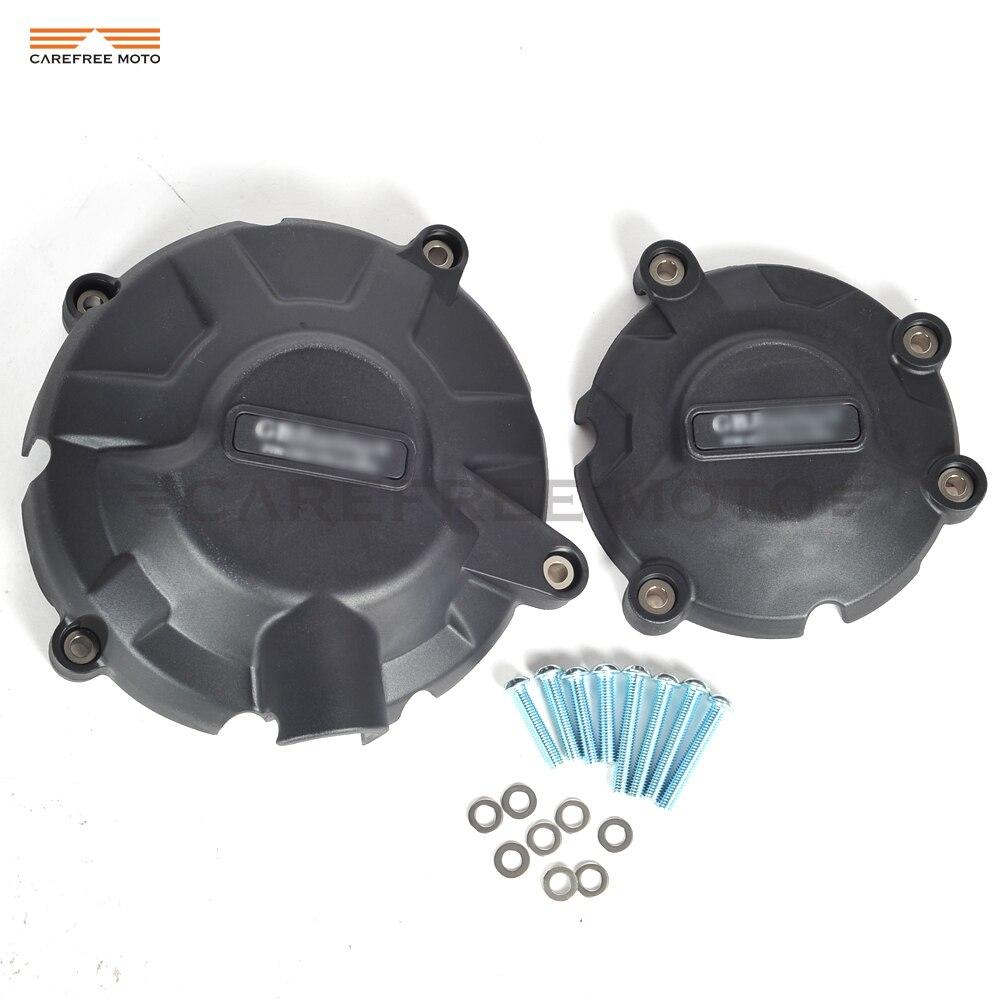 Protection noire de Protection de moteur de Moto coque ou étui de Protection pour GB Racing MV Agusta F3 675